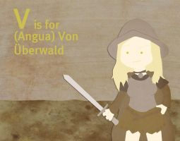 V is for Von Uberwald by whosname