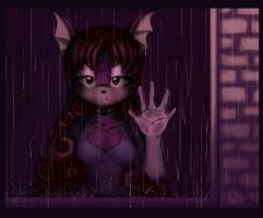 The rain by Echidna-halfdragon