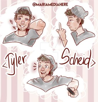 Tyler Scheid appreciation dump by MariaMediaHere