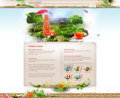 Roleski Cookies subpage - design and development by webdesigner1921