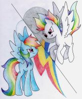 Super Rainbow Dash by CoffyTacoTuesday