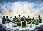 The Gods of Rugby Heaven by Caveatscoti