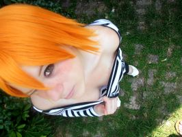 Nami as Vonclay,camouflage of Impel Down- Cosplay by NamiTheQueen13