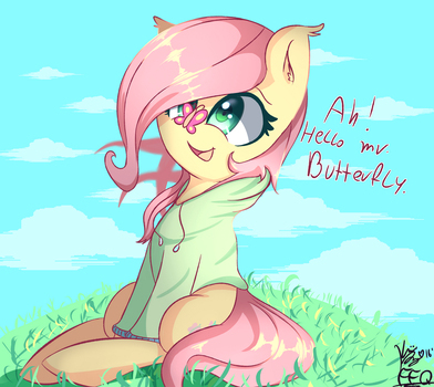 Mr butterfly by FreeFraQ