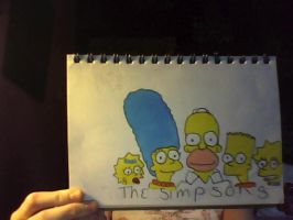 The Simpsons by zara-art