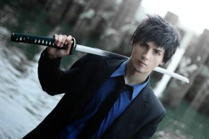 Yamamoto Takeshi cosplay by GraysonFin