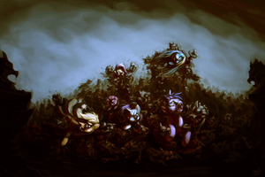 The final stand of elements by AssasinMonkey