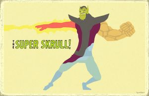 The Super Skrull by Hartter