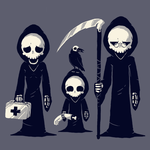 Grim Family by daskull