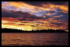 Sydney Sunset II by psyfre