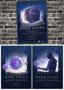 Over Unity Launch Poster by mortalitas