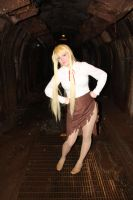 Shizuka in the Tunnel HOTD by NocturnalRadiance