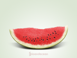watermelon icon - free psd by nelutuinfo