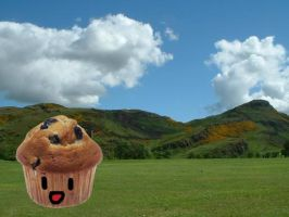 Muffin Wallpaper by Animidge
