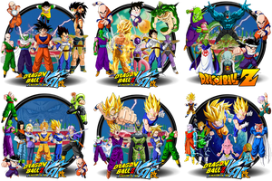 Dragonball Kai Complete Icon Set by DarkSaiyan21