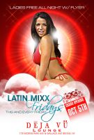 Latin Mixx Front Flyer by Alucard309