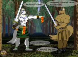 Mayan Vs. Tremor by Mayanwolf