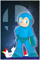 MegaMan for Smash4 by Lucora