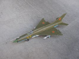 1/48 scale Soviet MiG-21 PH 1 by Coffeebean2