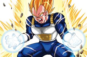 Super Saiyan vegeta by oume12