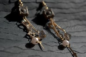 Throughout Time Earrings 02 by taeliac