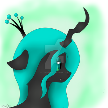 Queen Chrysalis 5$ by StarDust2755