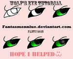 Wolf's eye tutorial 2 by Fantasmennlue