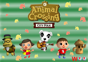 Animal Crossing City Folk by dethblood