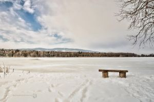Pond in the Winter by XanaduPhotography