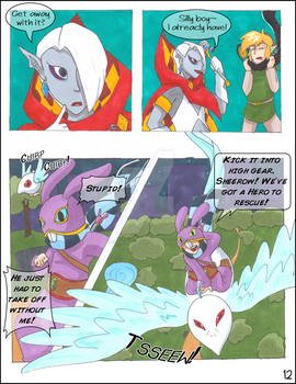 LDL Angel p12 by CyphonFiction