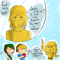 Stephano is He Man .:Scribblenauts:. by Piggy-The-PumpedPig