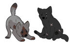 chubby puppies by Mocking--Birds