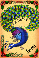 Ex Libris Jemi (school work) by JemiDove