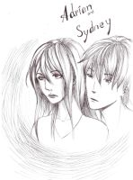 Sydney and Adrian -2 by YuiAino