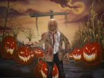 Zombie in Harvest by jodielar8