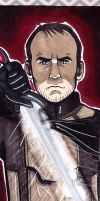 Stannis Baratheon bookmark by lubyelfears