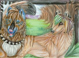 ACEO-MuffinWarrior42 by itsmar
