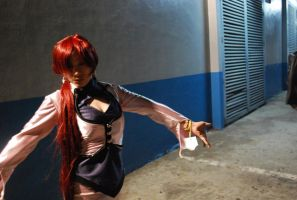 KOF Shermie Orochi by chenmeicai