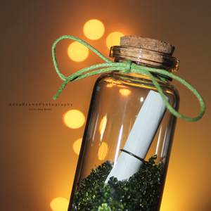 Message In A Bottle by *Absinth-Fee