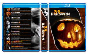 31 Years of Halloween Blu-ray Cover by themadbutcher