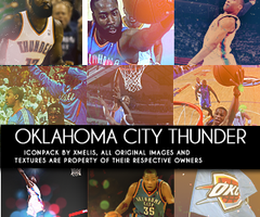 Oklahoma City Thunder 9 Icons by xMelis