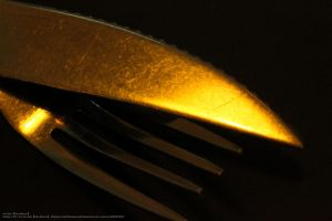 2011.11 Cutlery (Old Photo) by KiraAkuma92