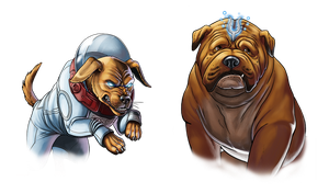 Canceled project - Cosmo and Lockjaw by Fan-the-little-demon
