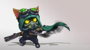 Omega Teemo Sketch by SirGaranord