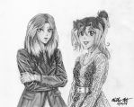 Kara and Kahlan for ThineDreamer by Yamigirl21