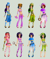 Steam Punk Dress Up All by TricksterGames