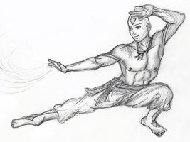 Airbending Master by BloodWolfGurl