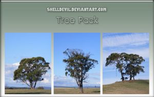 Tree Pack 1 by shelldevil