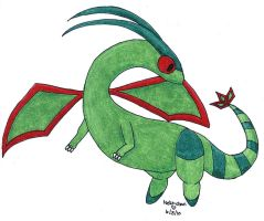Flygon by BlueEyesNeko