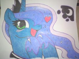 Princesa Luna 2 MLP by Marvbkr